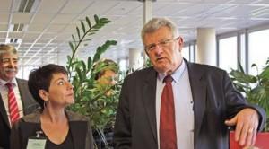 Le secrétaire d'État chargé du budget s'est rendu à Amiens pour apprécier in situ les avancées de l'expérimentation lancée par les Urssaf pilotes.