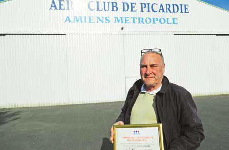 Philippe Morinière a reçu le Trophée régional d'accessibilité le 29 avril dernier à la mairie d'Amiens.