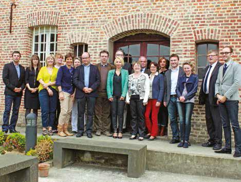 Les notaires se sont montrés sensibles aux projets de restauration menés par la Fondation Abbeville patrimoine.