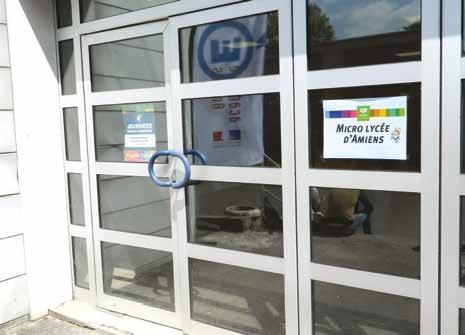 Lors des portes ouvertes du micro-lycée, 14 jeunes ont passé un premier entretien d'admission.