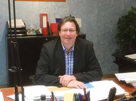 Rodolphe Fleyrat, PDG de la société Moret depuis 1997.