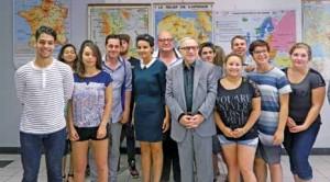 Najat Vallaud-Belckacem et Claude Gewerc ont assisté à un atelier organisé pour les lycéens picards.