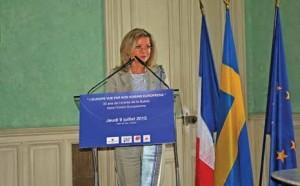 Véronika Wand-Danielsson, ambassadeur de Suède en France.