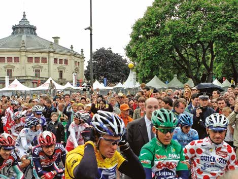 Le dernier passage du Tour de France à Amiens date de 2004.