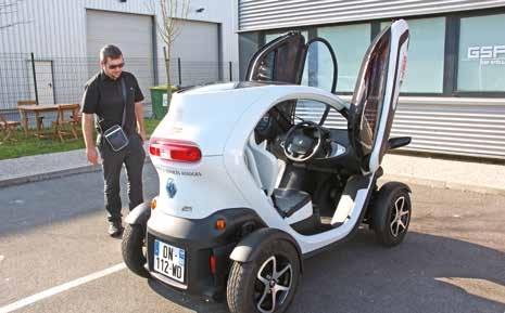 GSF Stella a fait l'acquisition d'un véhicule 100% électrique en mars dernier, qui tourne sur plusieurs sites amiénois.