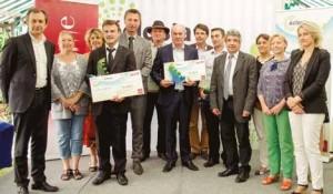 Cinq prix ont été remis lors de la cérémonie en présence de nombreux élus.