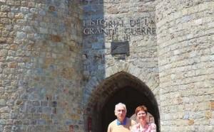 Émilie Duchaufour et Daniel Therby sont prêts à accueillir les visiteurs.