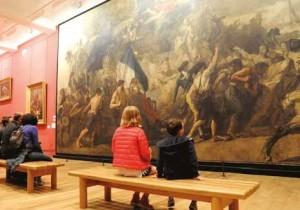 Le Mudo abrite la monumentale toile de Thomas Couture L'enrôlement des volontaires de 1792.