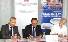 La convention a été signée dans les locaux de la Caisse d'Épargne à Amiens le 16 juillet.