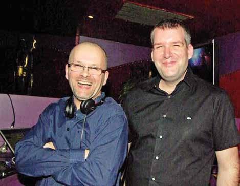 Didier Legros (à g.), un animateur et organisateur passionné de soirées.