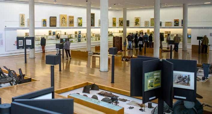 L'an passé, l'Historial a accueilli 110 000 visiteurs.