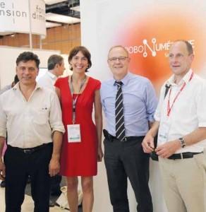 Frédérique Macarez a multiplié les contacts avec les industriels et les acteurs de la filière.