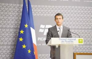 « Amiens ne sera pas en deuxième division », a promis Manuel Valls.