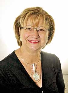 Ginette Platrier, présidente de la Fédération du bâtiment de l'Aisne.