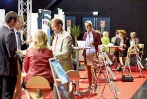 Rencontres de l'international, le salon organisé en juin 2014 à Mégacité.