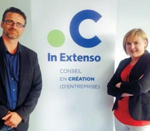 Pascal Pillon et Nathalie Ponthieux, au service des créateurs/ repreneurs…