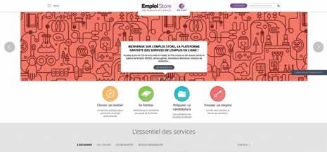 Pôle emploi a lancé Emploi Store le 2 juillet.