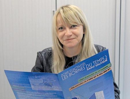 Delphine Clabault, la directrice de la communauté de communes Ouest Amiens.