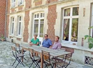 Dominique et Thibaud de Thézy, père et fils, vont participer prochainement à l'émission de télévision Bienvenue chez nous.
