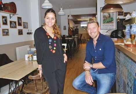 Anabel Galdeano et Christophe Desaegher, patrons enthousiastes d'El Tablao Cafe&Tapas.