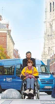 SPTA est au service des personnes à mobilité réduite.
