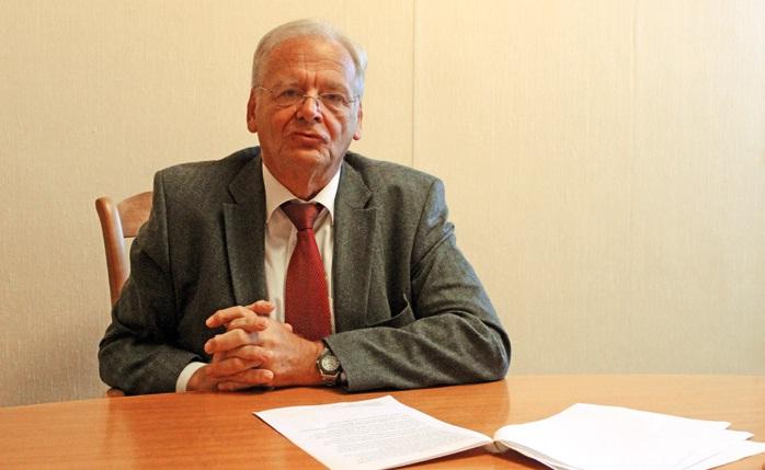 Bernard Martel, président de la CCI d'Abbeville, a annoncé la décision des élus.