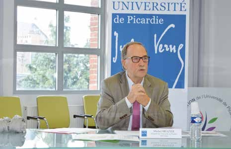 Michel Brazier souhaite rendre l'université accessible à tous.