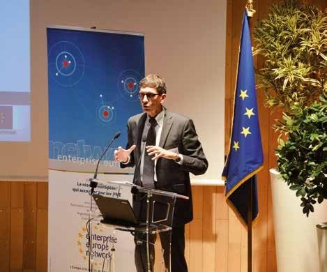 Jean-Denis Collé est responsable du service industrie au conseil régional.