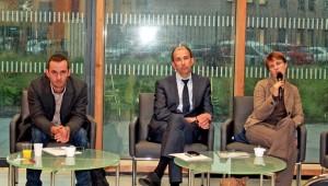 Johann Vanden Bogaerde, Thierry Saublet, Aurélie Wydoszyn.