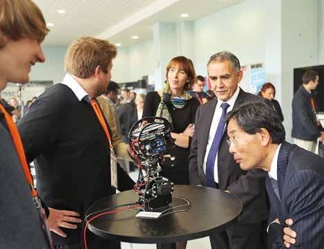 La venue de l'ambassadeur du Japon, Yoichi Suzuki, prouve que Saint-Quentin est entrée dans l'écosystème de la robonumérique.