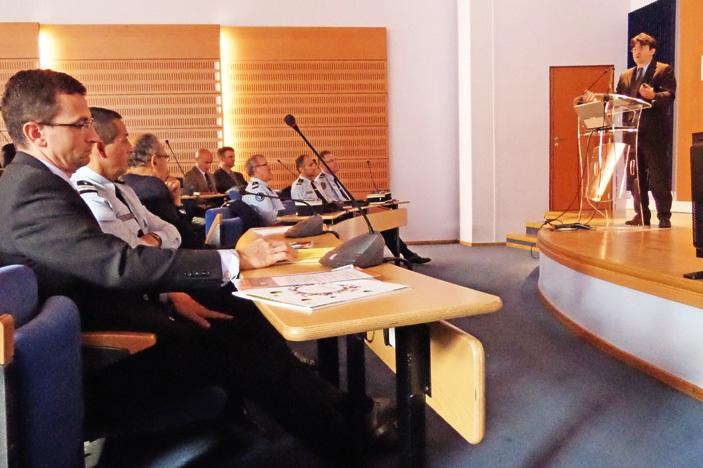 Les intervenants ont donné des pistes et des réponses très concrètes aux chefs d'entreprises présents dans l'amphithéâtre de la chambre d'agriculture de Laon.