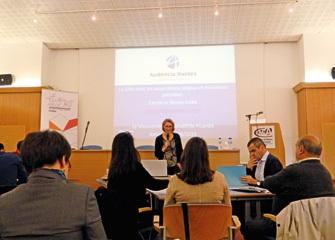 Carole Le Rendu-Lizée a attiré l'attention sur le surinvestissement et les risques psycho-sociaux chez les salariés.