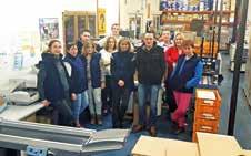 L'équipe de LMD dans son atelier basé à Etreillers, à l'ouest de Saint- Quentin.
