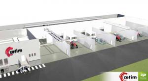 La future plate-forme PIM@TEC, financée à 50% par la Région et à 50% par le CETIM.