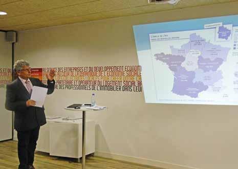 Jean-Michel Bondu a introduit la présentation des chiffres de l'ESS au 4e trimestre 2014.