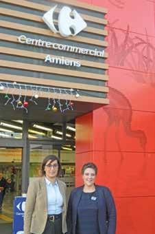 Ikram Barett et Claudie Petit sont fières du nouvel elan insuffle a ce complexe.