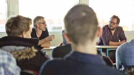 Des chercheurs à la rencontre de lycéens pour échanger sur le métier, et susciter des vocations.