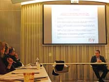 Christophe Doré a présenté les mesures de la loi Rebsamen.