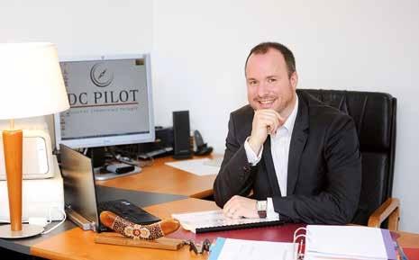Sébastien Gressent change quotidiennement de bureau.