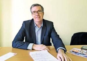 """Bruno David est le président de la commission """"Exercice illégal"""" à l'Ordre des experts-comptables Picardie-Ardennes."""