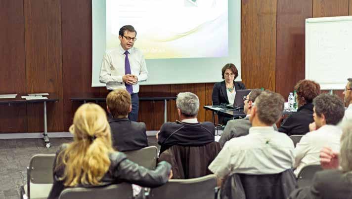 Les managers picards de Leader Price, enseigne du groupe Casino, ont suivi en octobre dernier la formation du Dr Philippe Rodet à Reims.