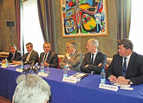 Cette réunion a permis aux présidents d'échanger sur des problématiques communes, comme la question du canal Seine-Nord.
