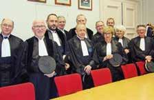 Quatre juges ont été installés en début d'audience solennelle de rentrée du tribunal de commerce de Soissons. Ils siégeront sous la présidence de Gérard Drouart.
