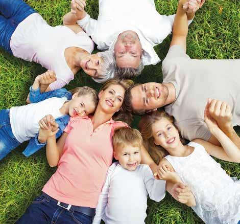 Dans la région, une famille sur quatre est une famille nombreuse.