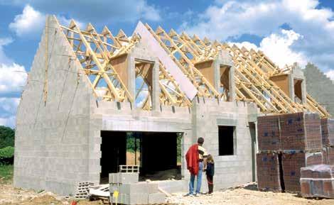 Le prix médian sur le marché des terrains à bâtir augmente depuis un an.