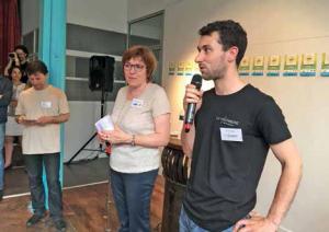 Yann Paulmier, de la Machinerie, a bénéficié d'un prêt de 15 000 euros grâce à la cagnotte participative.