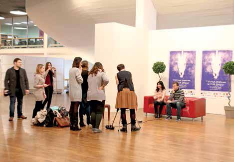 Tous les ans, Bulldog accompagne une trentaine d'étudiants dans la création d'une Web TV à l'occasion du Fifam.