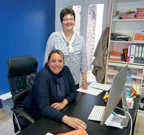 L'objectif d'Anne-Claire Piraux, Virginie Ruiz (debout) et de leur associé Jérôme Delamotte : répondre au mieux aux besoins des bénéficiaires