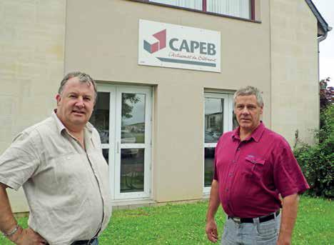 José Faucheux, président, et Éric Verlinde, vice-président, veulent des mesures simples et pérennes.
