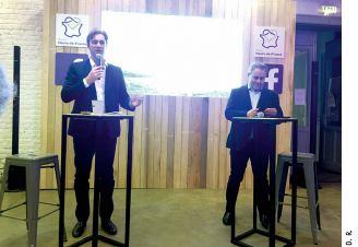 Laurent Sully, directeur de Facebook France et Xavier Bertrand, président des Hauts-de-France, se sont rapprochés il y a trois mois afin d'accélérer la transition numérique des entreprises. Ils ont signé un partenariat inédit début décembre.